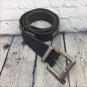 Gap genuine leather belt size medium
